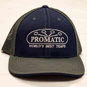 W01V/CAPUS6 Promatic Navy/Gray Fitted Cap