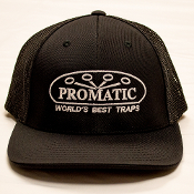 W01V/CAPUS6 Promatic Black/Black Fitted Cap