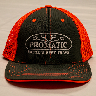 W01V/CAPUS6 Promatic Gray/Orange Fitted Cap